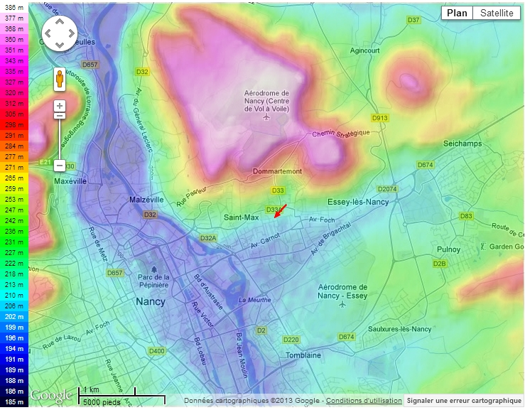 Découverte du plateau de Malzéville [Maj 02/04/2013 - Lever de soleil glacial] 819439cartoplateau