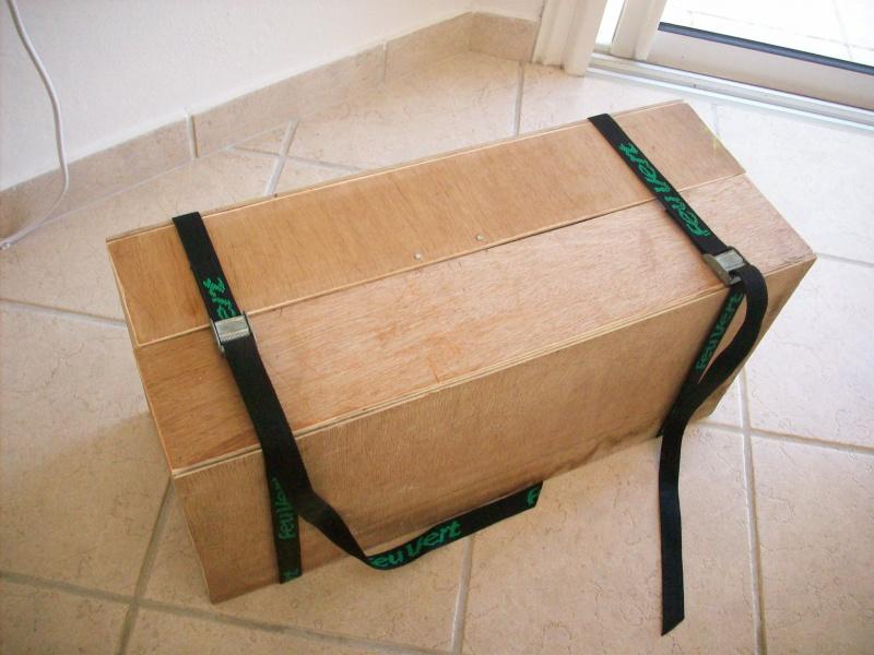 fabrication d'une caisse de transport pour le scania 8194441008913