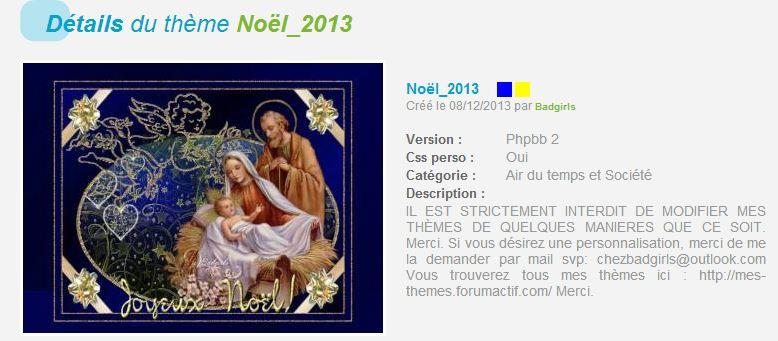 THÈMES NOËL  820166noel2013