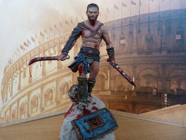 Spartacus - Le Thrace Scale 75 821507P1110970