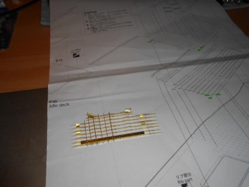 PA AKAGI 1/350 de chez Hasegawa PE + pont en bois par Lionel45 822295015