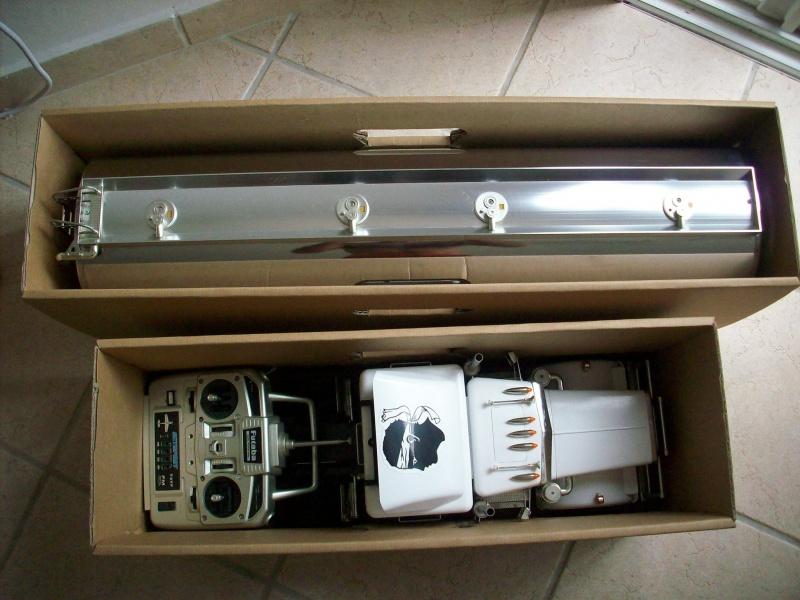 fabrication d'une caisse de transport pour le scania 8224131008918
