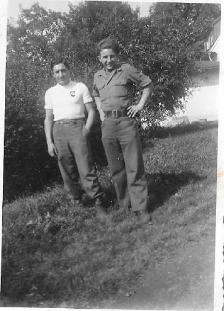 Recherche d'un parent engagé au 1er Bataillon de choc à Staoueli en 1943 :Roger BELLELAGAMBA 822557Bellagambax