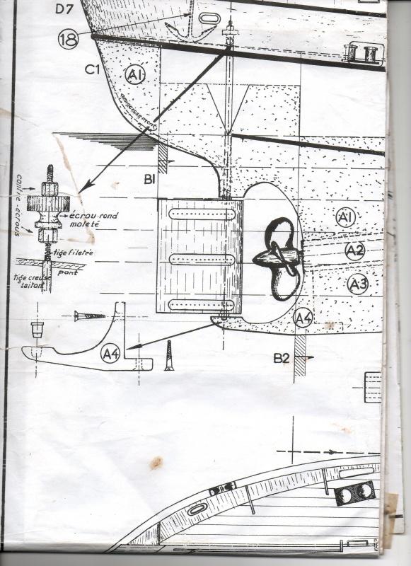 """Le Patrick"" sardinier    New maquette 1/25 - Page 2 823796extraitPlan001"