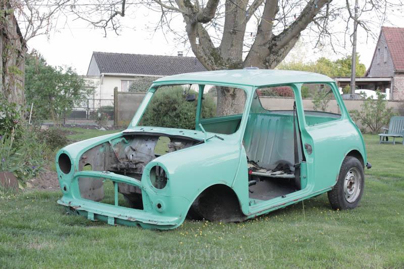 Restauration d'une Austin de 1980 824458IMG3297
