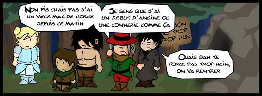 [Webcomic] Dungeon Skippers (Campagne Ulule en cours !) 825212extrait6