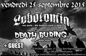 [Toulouse - 25-09-2015] LOBOTOMIA + DEATH BURING + guest 825905affiche25091520ko