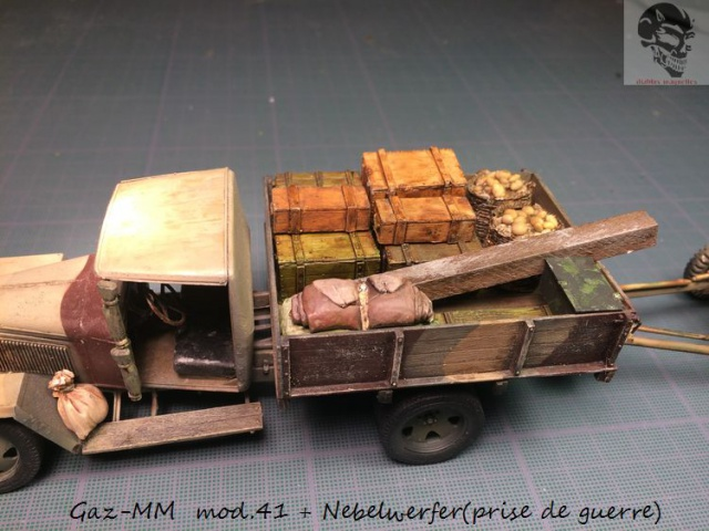 Gaz-MM mod 41 et Nebelwerfer (prise de guerre) - MiniArt + Dragon - 1/35 826653IMG5072Copie