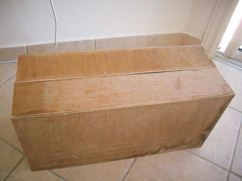 fabrication d'une caisse de transport pour le scania 8269131008912