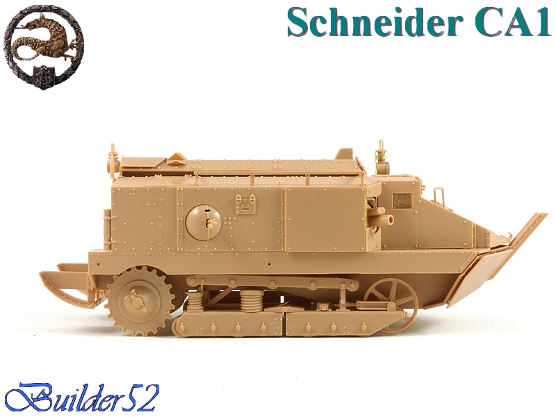 CHAR SCHNEIDER CA 1 - HOBBY BOSS 1/35 827563P1040929