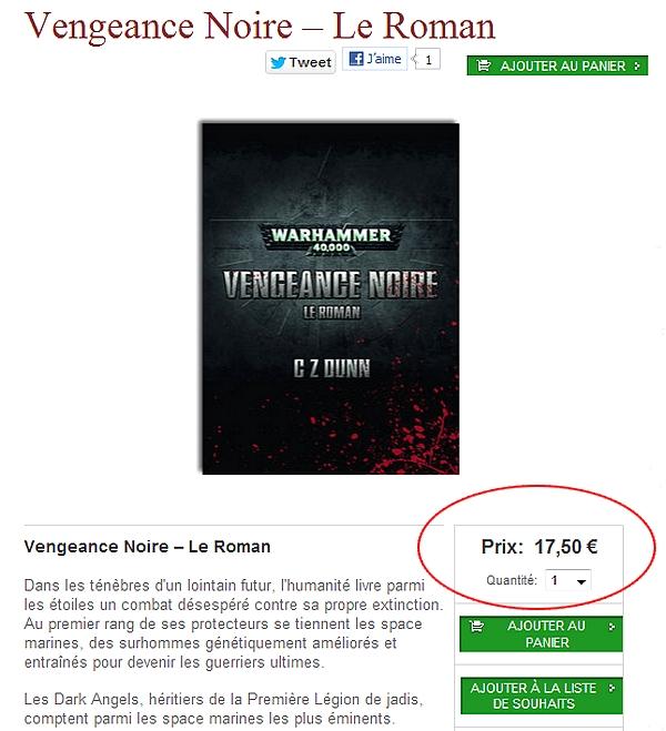 Vengeance Noire – Le Roman & The Ascension of Balthasar de C.Z. Dunn 829610Vengeancenoireleroman