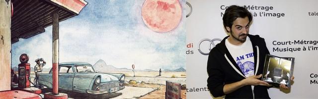 Audi talents awards partenaire d'AlloCiné pour la nouvelle rubrique « Bandes Originales » 829614Laureat2014CMRomainQuirotemergence