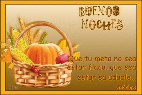 Canasta Saludable con Frase 829670NOCHES