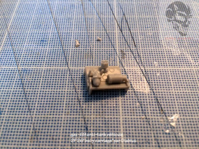 "GAZ-69 2P26 ""Baby carriage"" - Bronco 1/35 830051IMG4002"