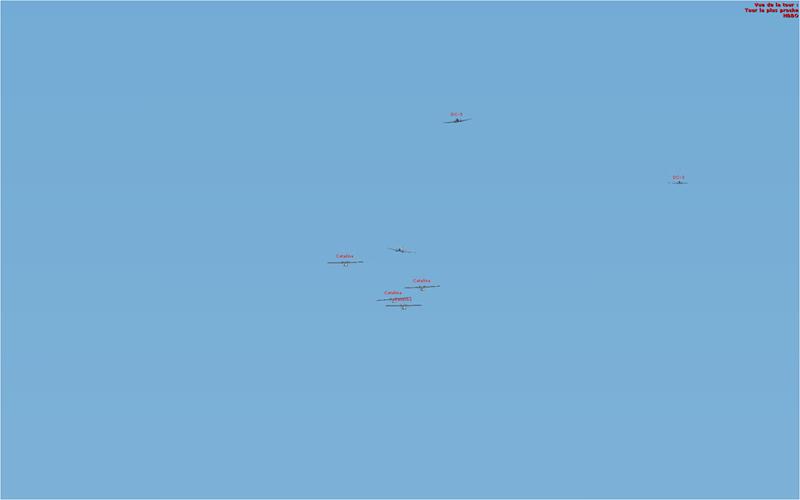 Vol en formation en Afrique (DC3) 8303372013222214350930