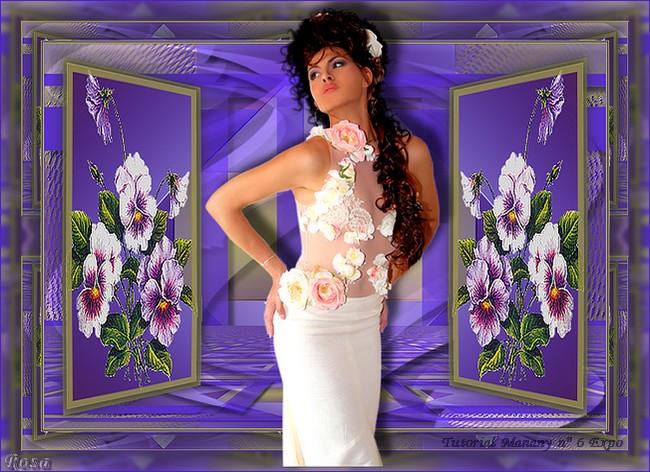 N° 6  Manany Tutorial Expo 830469ROSAAGOSTO1TUTORIALN6MANANYEXPO
