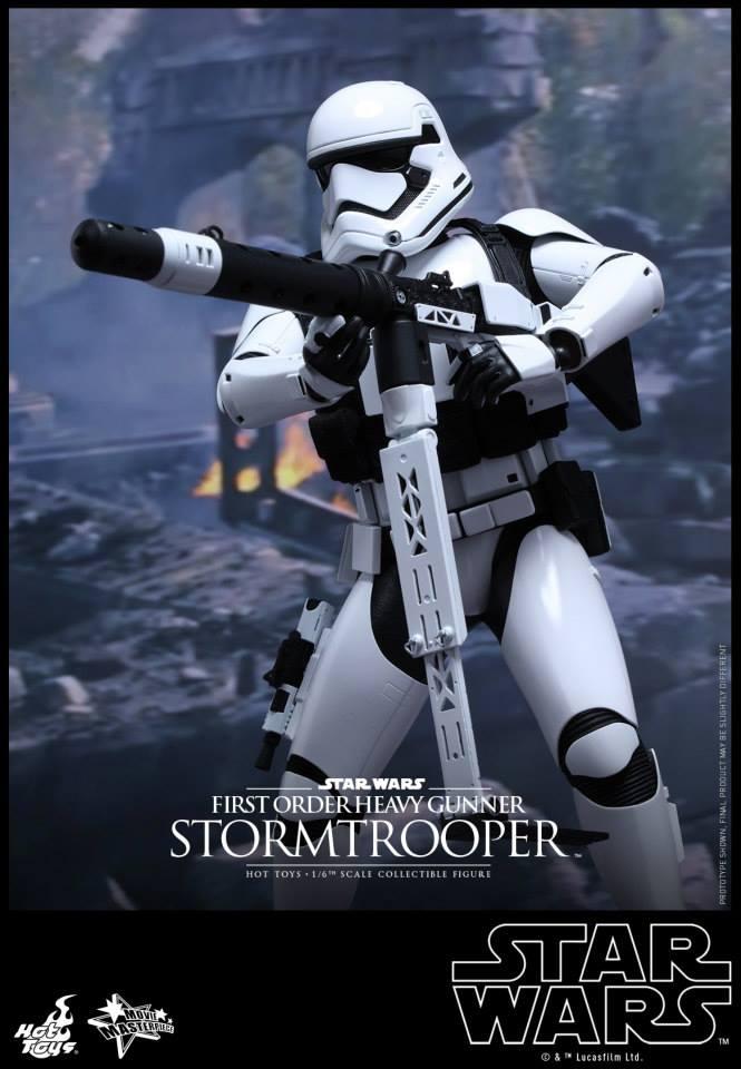 HOT TOYS - SW7: TFA - First Order Heavy Gunner Stormtrooper 830581108