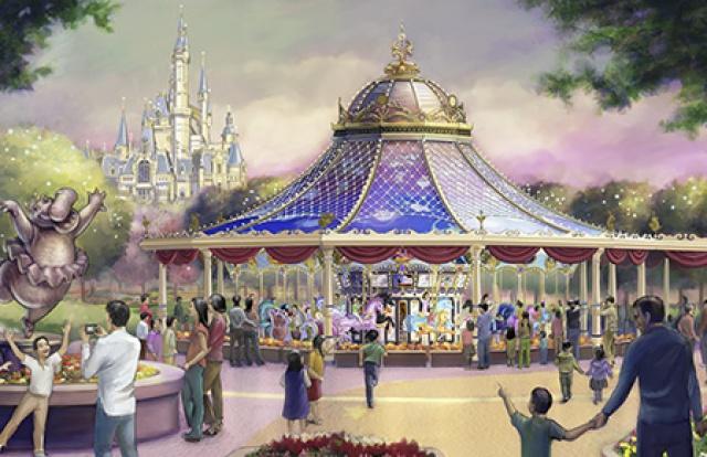 [Shanghai Disneyland] GARDENS OF IMAGINATION (Fantasia Carousel/Dumbo/Mickey/Marvel/Golden Fanfare/Parade) 831517SD10