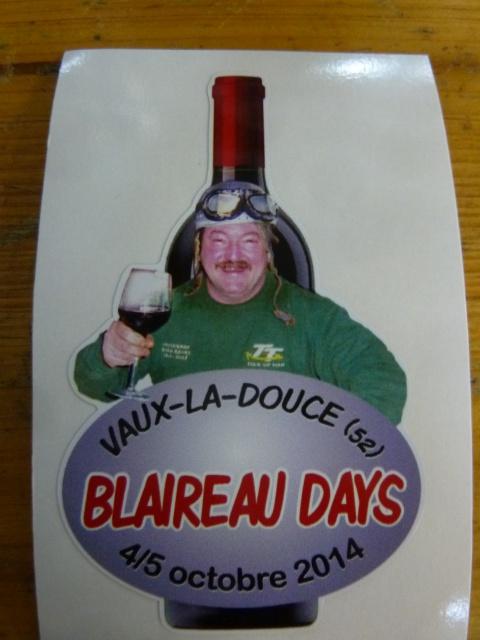 Blaireau Days 2014 :au centre de remise en forme de Vaux la secousse (52) 832551P1410839