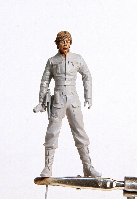 """Remember your failure in the cave!"" (Luke Skywalker 70mm) 833638001"