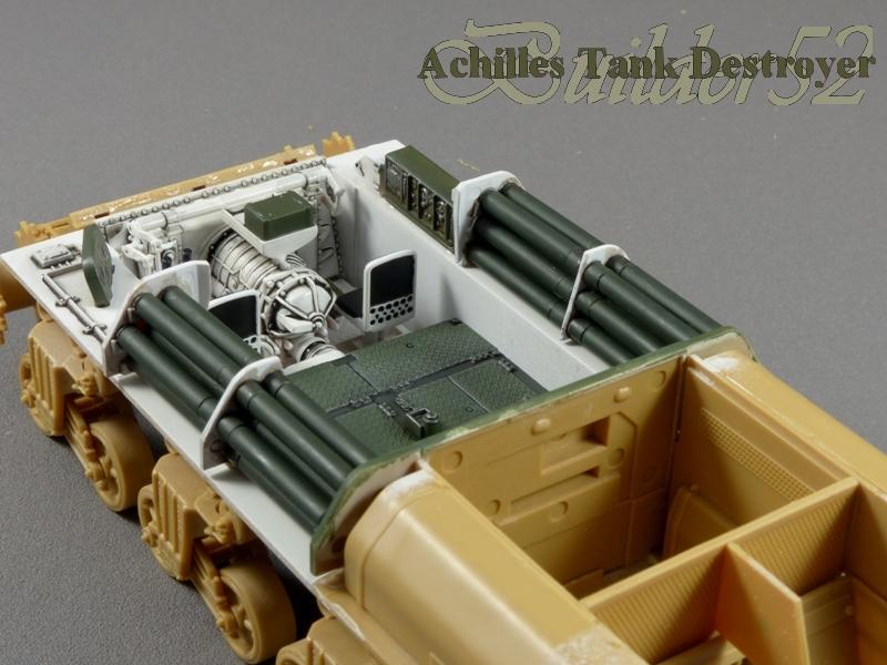 Achilles Tank Destroyer - Academy-Italeri + RB Model + set Blast 1/35 833679P1030795