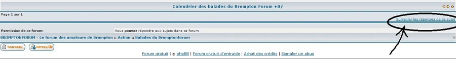 Calendrier des balades du Brompton Forum •Bƒ 833796Bfsurveillerlesujet