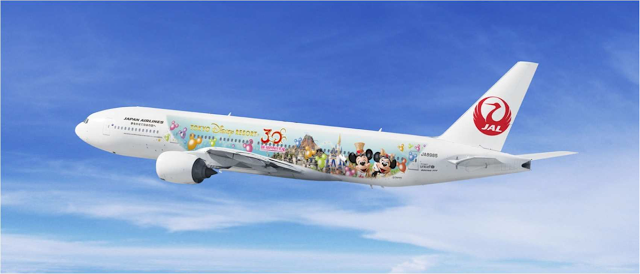 [Tokyo Disneyland]  30th anniversary ''The Happiness Year'' (du 15 avril 2013 au 20 avril 2014) - Page 2 834240JALHappinessExpressJet