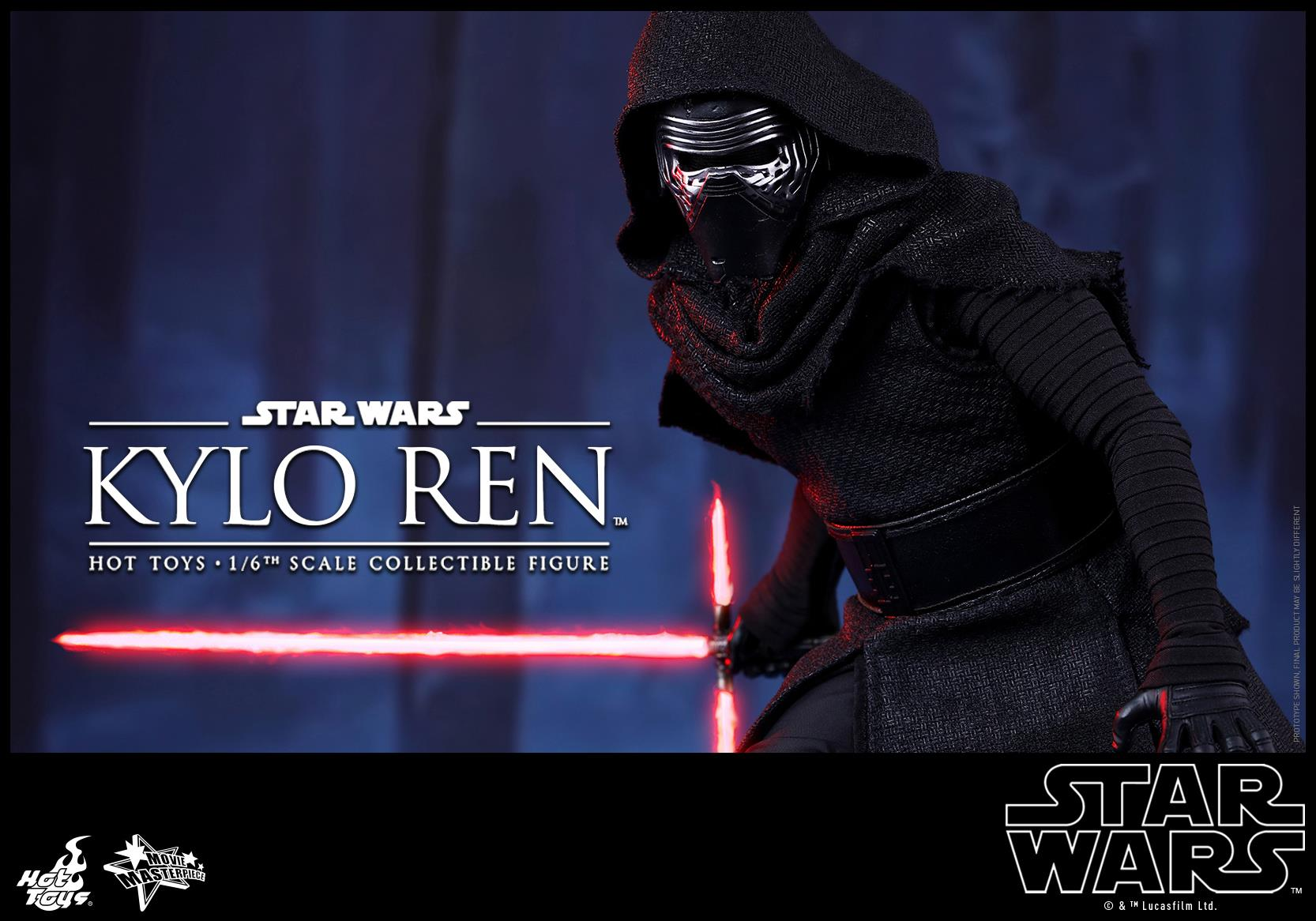 HOT TOYS - Star Wars: TFA - Kylo Ren 834305109