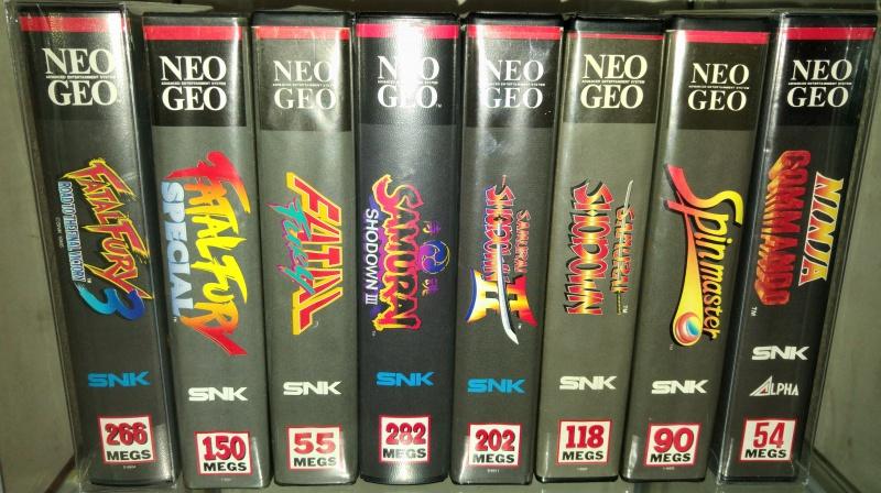 ajout de ma collection Neo Geo AES en vitrine :) 83440020160512153347
