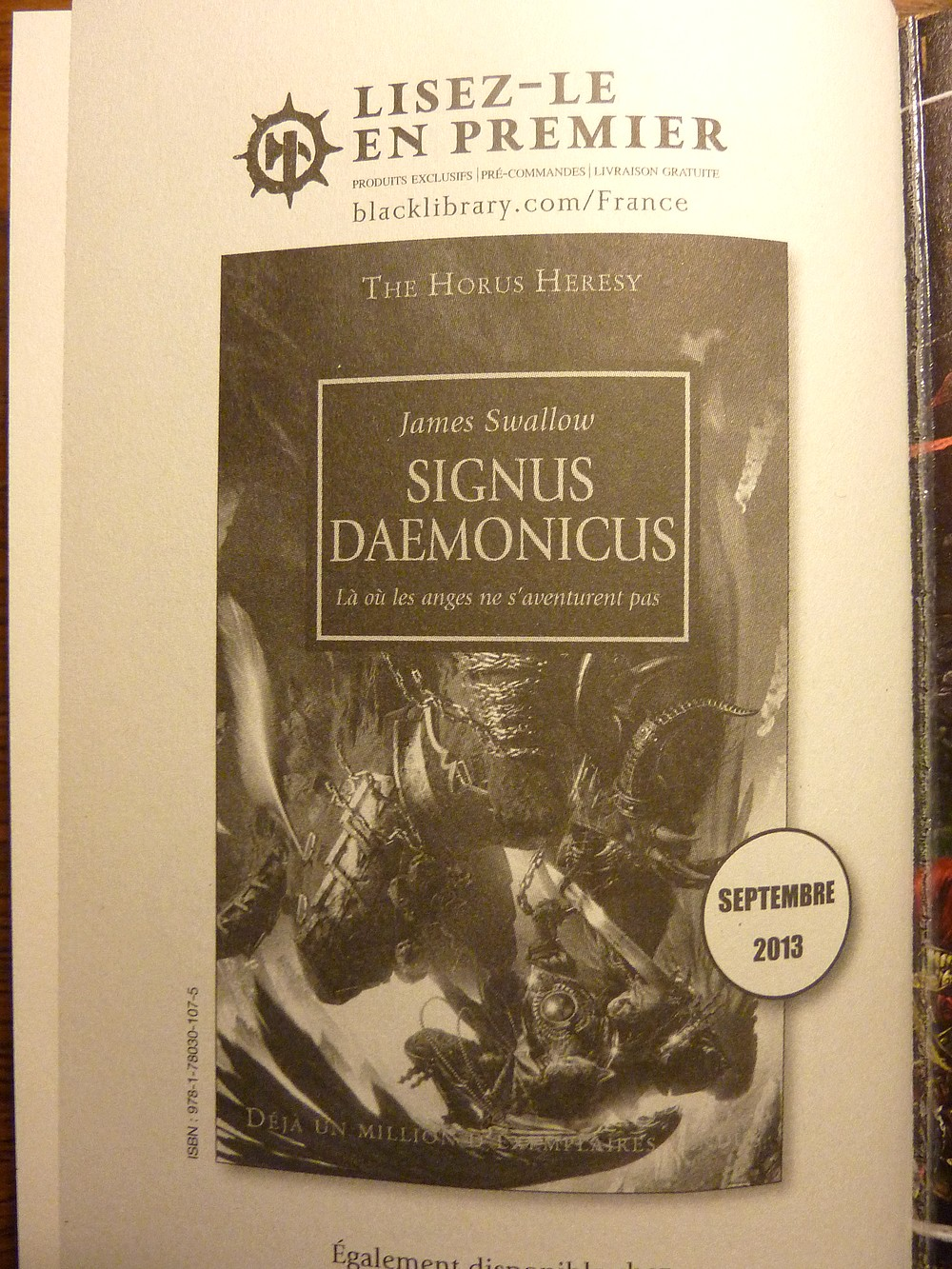 Signus Daemonicus de James Swallow 834970Signus2