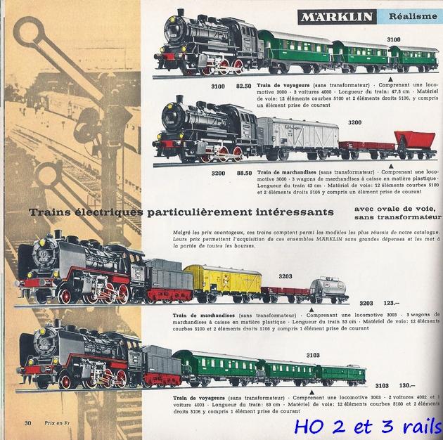 Coffrets Märklin 1936 - 1968 (rouges, noirs, verts ou bleus) 835128Marklincatalogue19641R