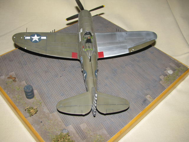 Restauration P-47 Lt Raymond Knight 1/48 Monogram  835445IMG6076