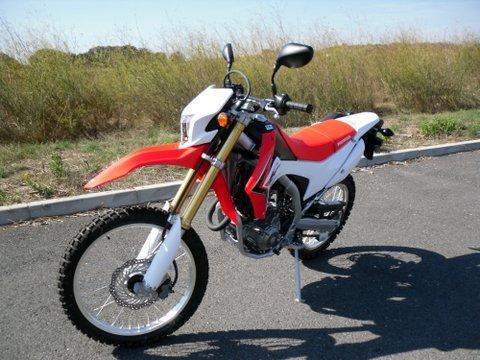 Essai TT de la HONDA CRF250L 835591SDC15589
