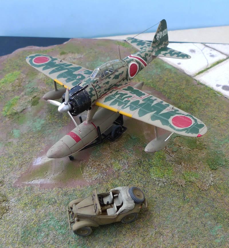 "[Hasegawa] - Nakajima A6M2 N ""Rufe"". 836605Rufe37"