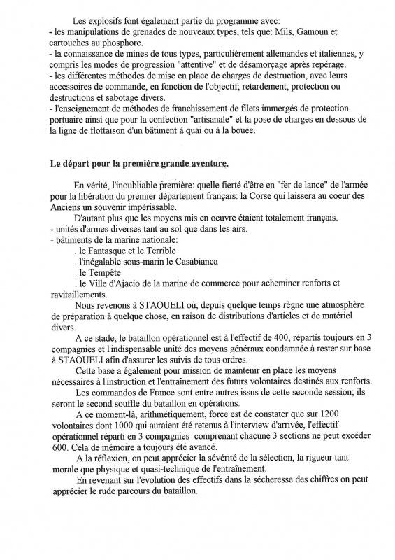 Le 1er Bataillon de Choc à STAOUELI en 1943  par Maurice DOUET (2002) 836789769