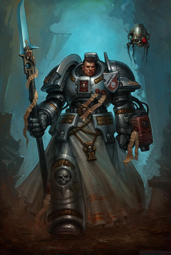 [W40K] Collection d'images : Space Marines 837061JusticarAlaric