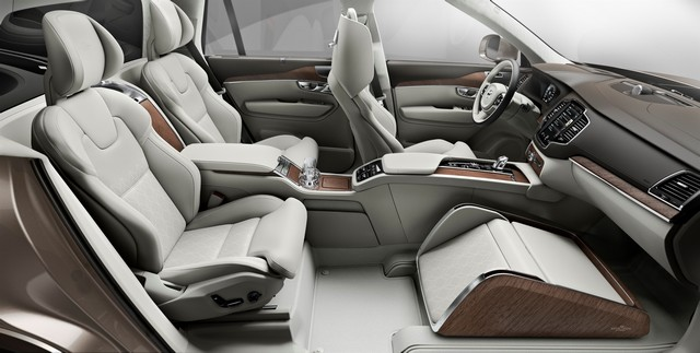 Volvo Cars a dévoilé Sa Nouvelle Lounge Console à Shanghai 837101161564VolvoXC90ExcellenceLoungeConsole