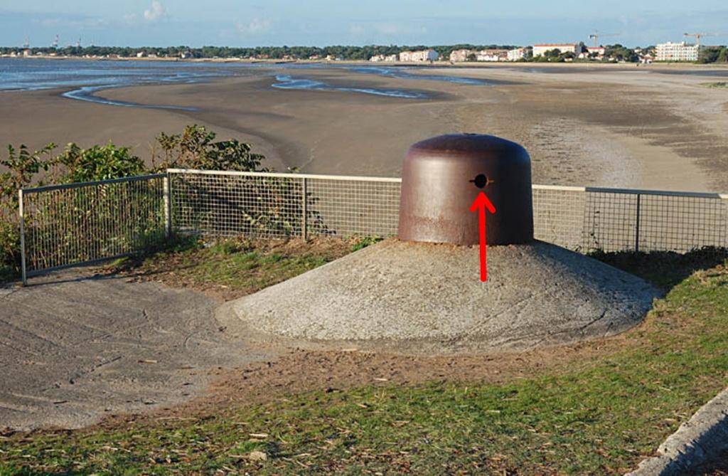optique de blindage de bunker 8374054657
