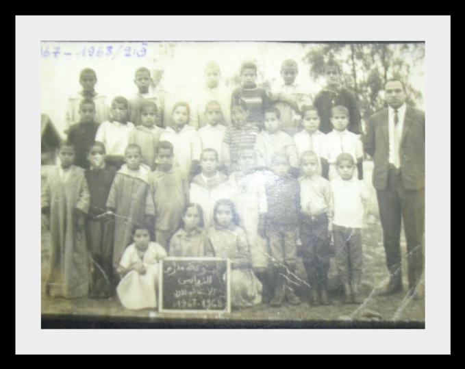 مدرسة الزواقين : صور قديمة لأطر التدريس  والتلاميذ في  الستينيات  83780881z5