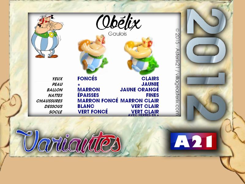 Astérix® les Variantes d'Hier et d'Aujourd'hui [Le Catalogue] 838860MarbreVariantesKinder2012Oblix