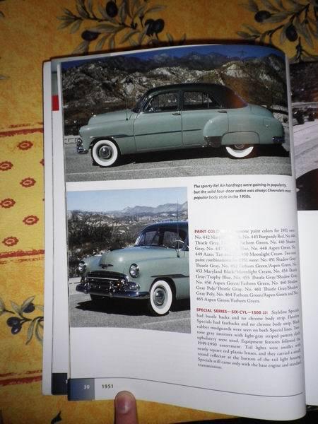 livres 2 * us car ,truck ,moto et  cinema 839881Redimensionnementde1950sChevrolet2