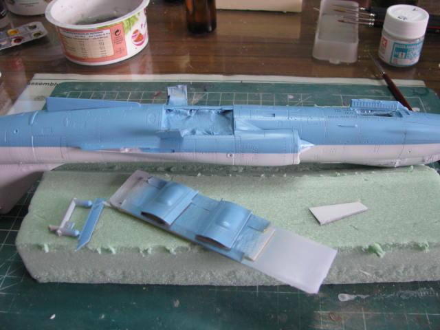 DUO: F-104N (NASA) + F-104G (BAF) Hazegawa 1/48  - Page 2 840145IMG7197