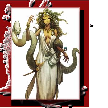 Bestiaire: Les créatures de la Grèce antique, entre Fantastique et réalité. 841042medusa