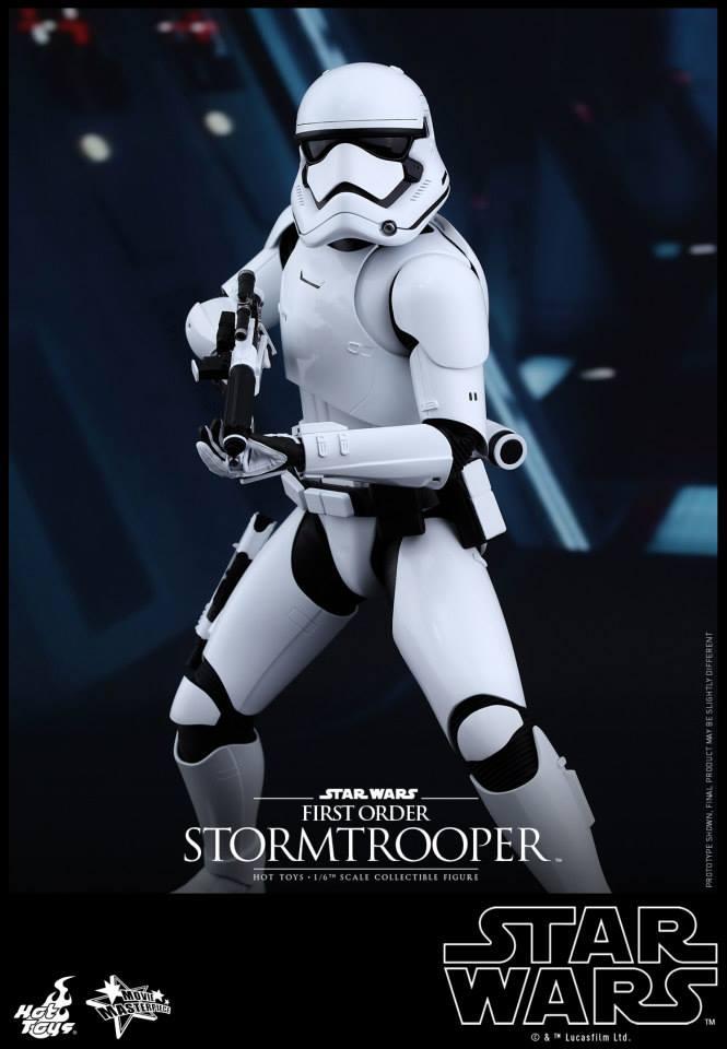 HOT TOYS - Star Wars: TFA -  First Order Stormtrooper 843146101