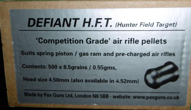 weihrauch - Tests plombs avec carabine Weihrauch HW50S 844080P1000099