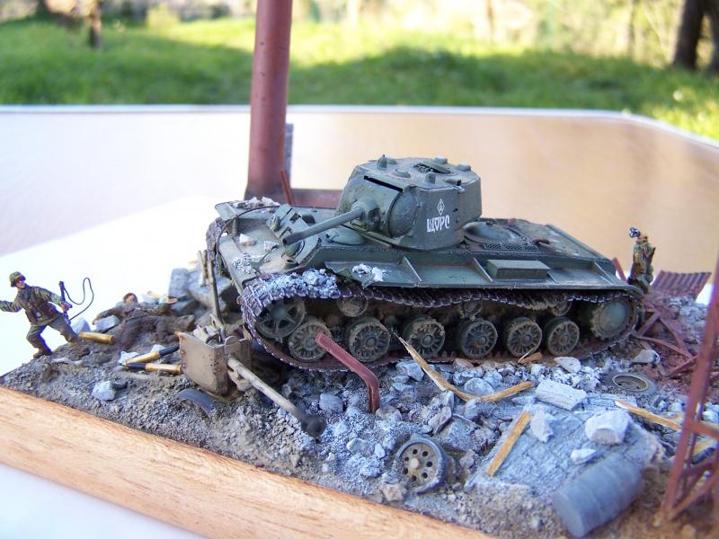 """Duel""  KV1c vs Panzergrenadiere Russie 42 8454901005501"