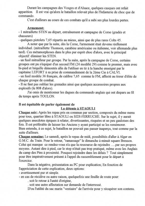 Le 1er Bataillon de Choc à STAOUELI en 1943  par Maurice DOUET (2002) 847143947