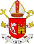 Bureau privé du curé d'Agen 847178BlasonAGENenPNG