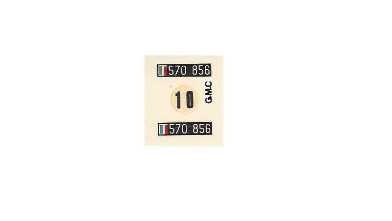 GMC . CCKW 353 (Réf. L809) 1/35 847425GMC013