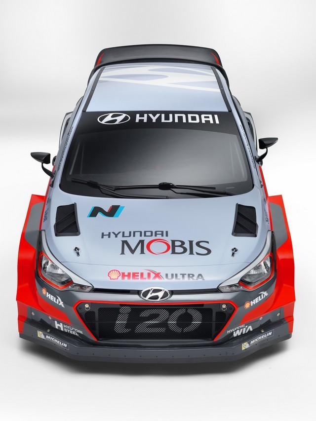 Hyundai Motorsport présente la nouvelle i20 WRC et son team 847552MRNewGeni20wrcfronthigh